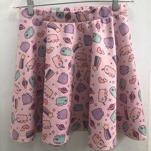 Pink Pusheen Skater Skirt